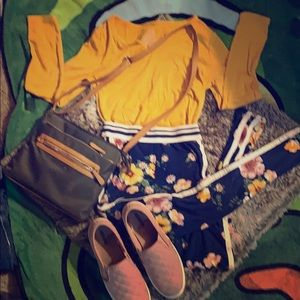 TIME&TRU ENTIRE OUTFIT- Including shoes and Bag